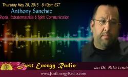 Anthony Sanchez on Just Energy Radio