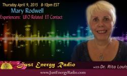 Mary Rodwell on Just Energy Radio