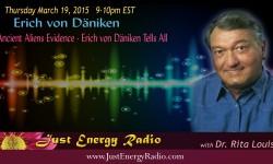 Erich von Däniken on Just Energy Radio - 15-03-19