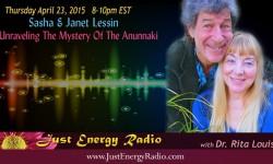 Sasha & Janet Lessin - In Just Energy Radio