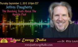 Jeffrey Daugherty on Just Energy Radio