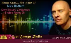 Nick Redfern on Just Energy Radio