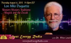 Lon Milo DuQuette on Just Energy Radio