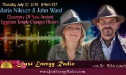Maria Nilsson & John Ward on Just Energy Radio