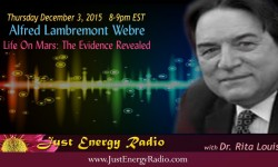 Life On Mars - Alfred Lambremont Webre on Just Energy Radio