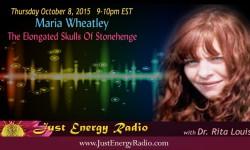 Maria Wheatley on Just Energy Radio