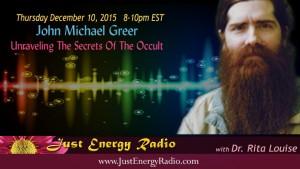 John Michael Greer on Just Energy Radio