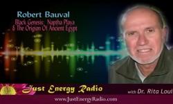 Robert Bauval On Just Energy Radio - Black Genisis