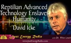David Icke - advanced technology - Reptilian